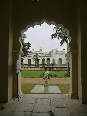 Chowmahalla Palace: Chowmohalla Palace view from the entrance