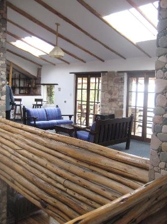 Hotel Isla Suasi: Hang out area