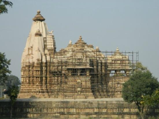 Khajuraho, India: Side view