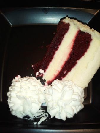 The Cheesecake Factory: Red Velvet Cheesecake