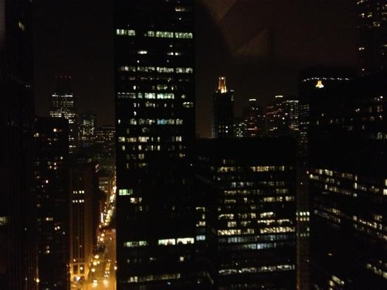 Fairmont Chicago Millennium Park: view from the 31st floor looking toward the city