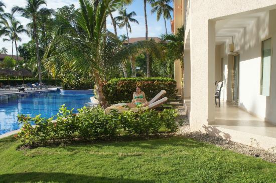 Majestic Elegance Punta Cana: swim up room shot 2