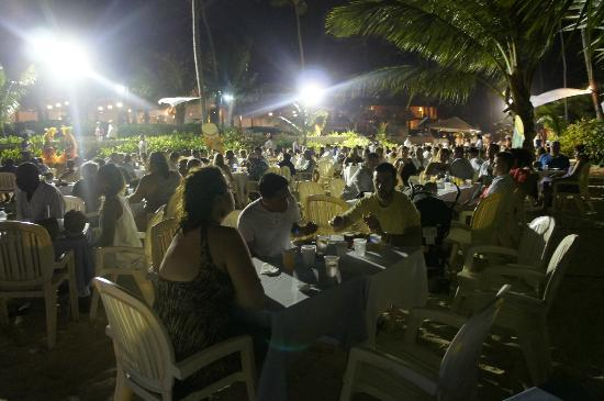 Majestic Elegance Punta Cana: beach party held by resort