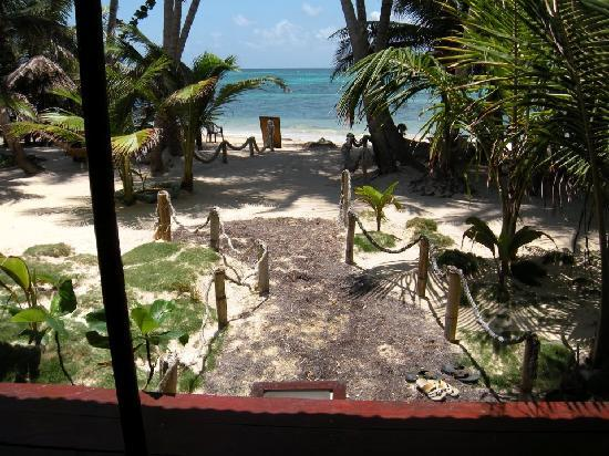 Little Corn Beach and Bungalow: View from our cabin - unreal.