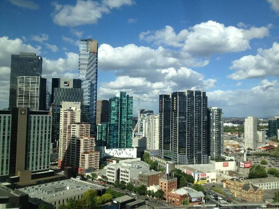 ‪‪Crown Metropol Melbourne‬: View from the 24th floor room‬