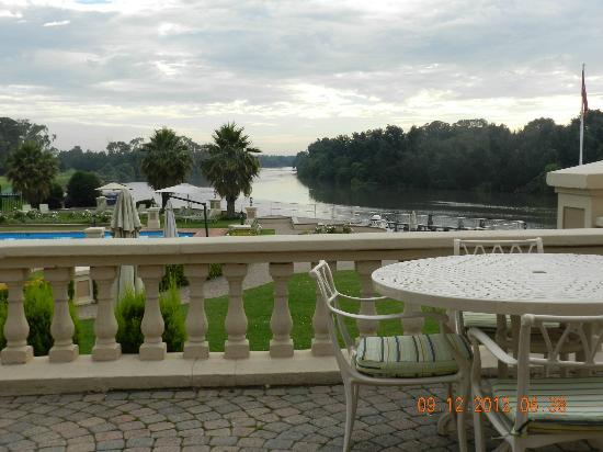 BON Hotel Riviera on Vaal: View from terrace