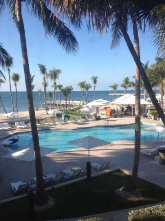 Casa Marina Key West, A Waldorf Astoria Resort: view from the room