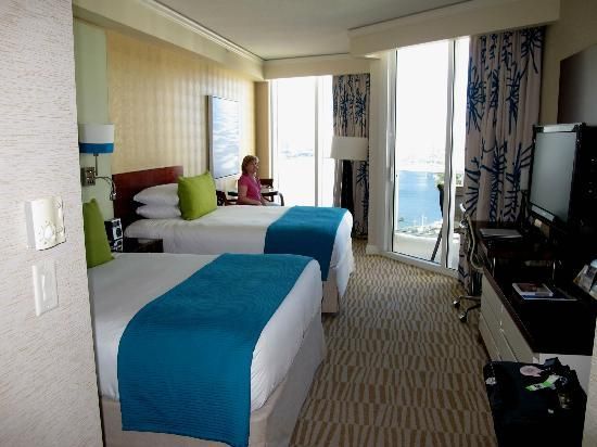 Trump International Beach Resort: standard Bay view room
