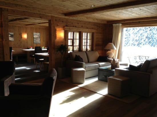 Hotel des Alpes by Bruno Kernen: Salle à manger