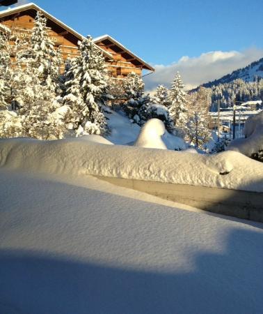 Hotel des Alpes by Bruno Kernen: Une des 3 vues depuis notre chambre