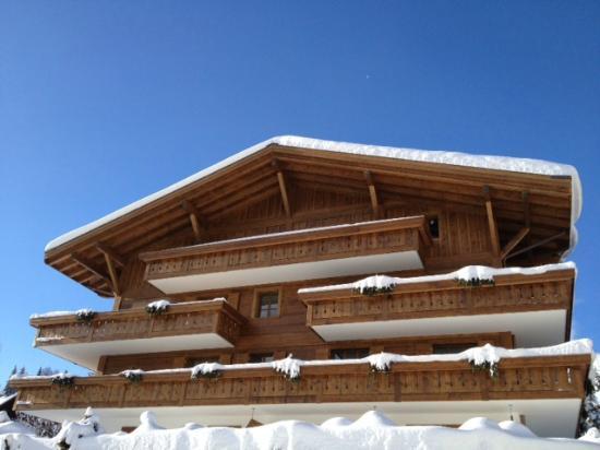 Hotel des Alpes by Bruno Kernen: Vue extérieure de l'hôtel