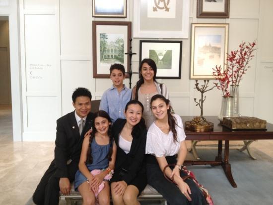 Oriental Residence Bangkok: Oriental smiles