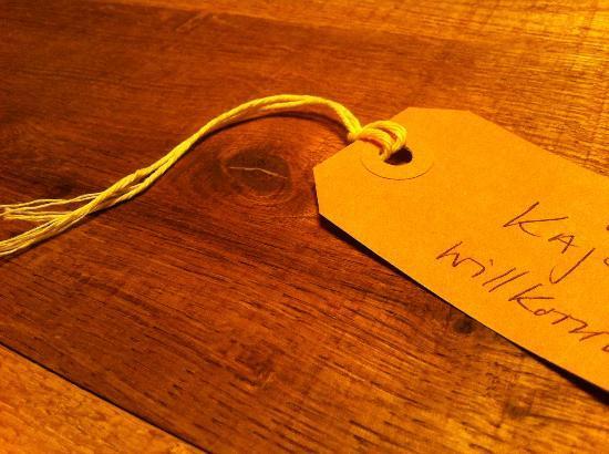 aifach: Tischreservation