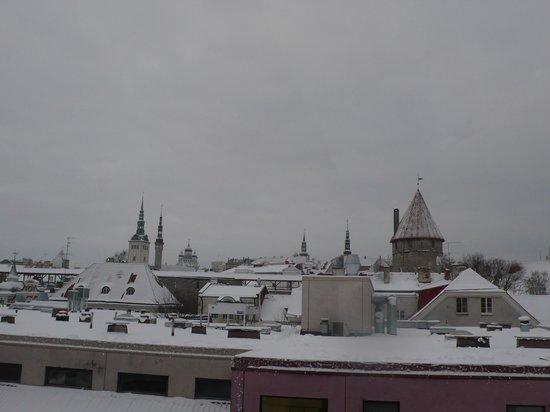 Hotel Bern: вид из окна