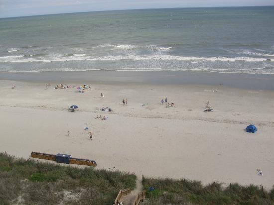 Mar Vista Grande: View of beach from balcony II