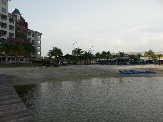 Marina Island Pangkor Resort & Hotel: View from outside