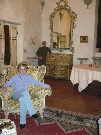 Villa Poggio Bartoli: ambienti d'altri tempi