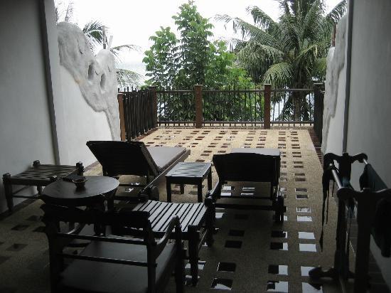 Panviman Resort - Koh Pha Ngan: Balcony