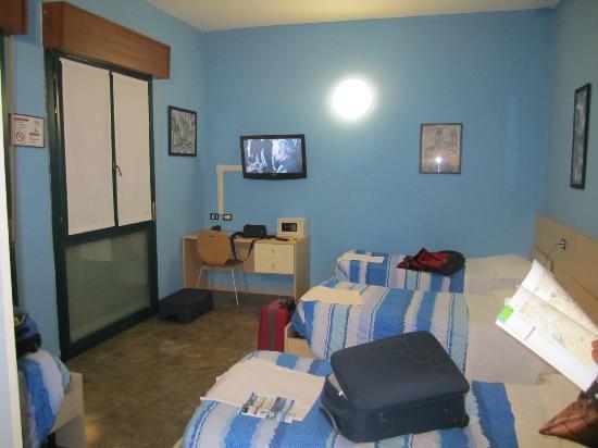 Central Hostel: Habitación