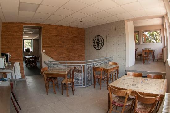 Le Jardin de la Reyssouze : Salle de petits déjeuners