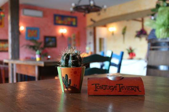 Tortuga Tavern: Atmosfera colorata