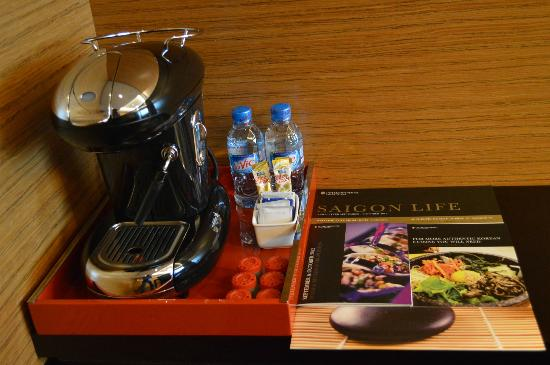 InterContinental Saigon Hotel: Coffee maker