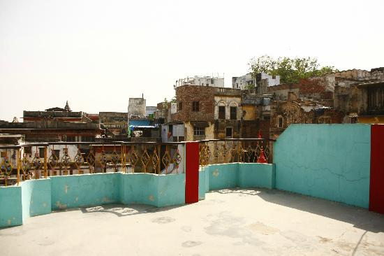 Sankatha Guest House: View from the rooftop.