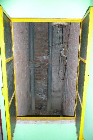 "Sankatha Guest House: Ground level room ""window""."