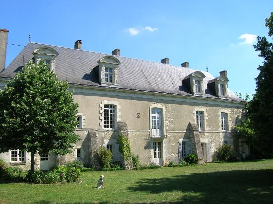 La Varenne: North-West Façade on the garden