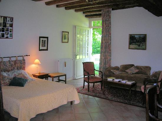 La Varenne: Garden room