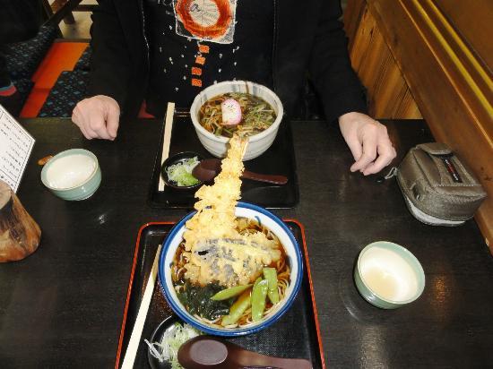 Matsubadyaya: Soba and tempura  Yumm