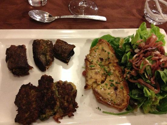confit de canard, aligot - picture of la table ruthenoise, rodez