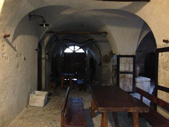 Il Palazzo: cortile interno