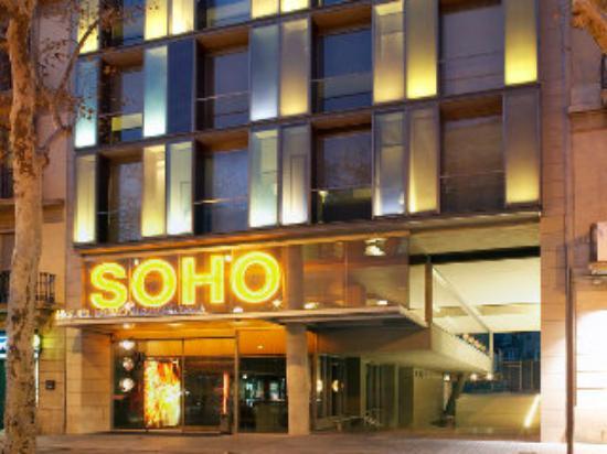 hotel in soho: