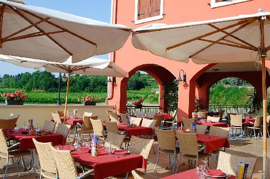 Sona, Itália: bellissima terrazza estiva