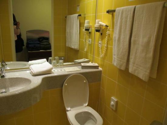 BEST WESTERN Wetzlar: Sink and toilet