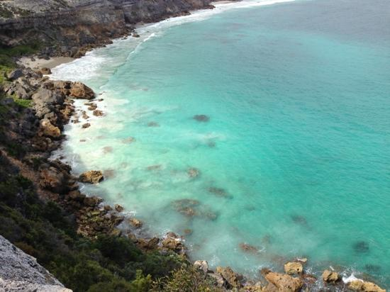 Southern Ocean Lodge: cliff walk by lodge