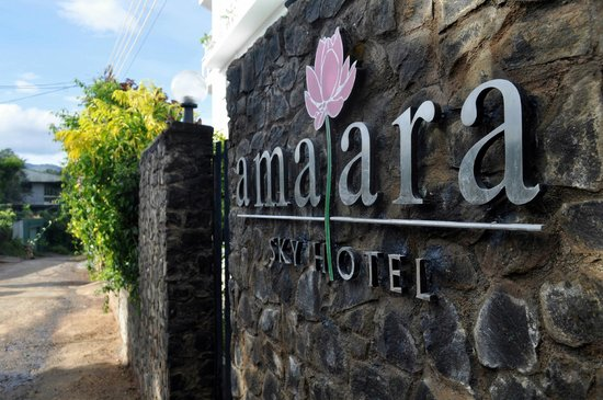 Amaara Sky Hotel Kandy: Entrance