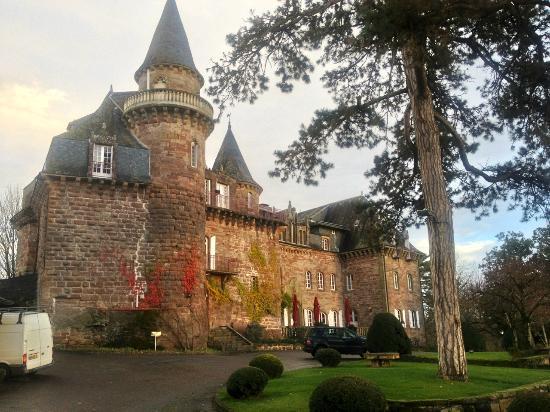 Chateau de Castel-Novel : Le Château