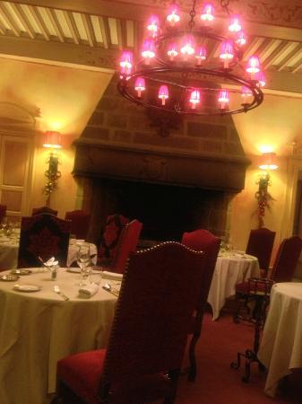 Chateau de Castel-Novel : Salle de restaurant