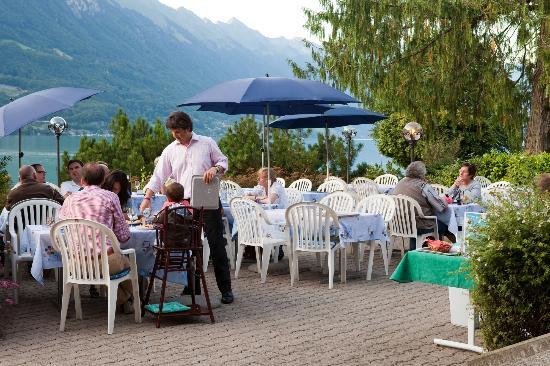 Seehotel Bonigen : Terrace