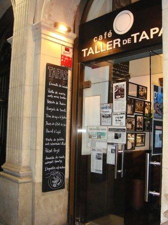 Taller de Tapas - Rambla Catalunya: l'entrata