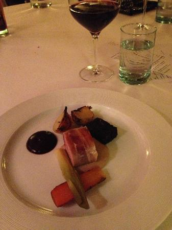 Dining Room: Ashbourne game, home cured bacon