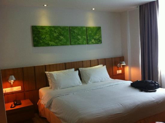 Ipoh French Hotel: comfortable bed