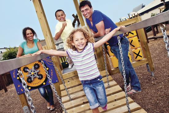Parkdean - West Bay Holiday Park : Adventure Play Area at Parkdean West Bay Holiday Park