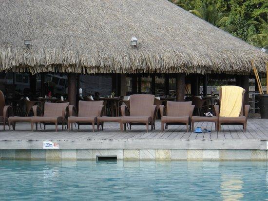 Sofitel Bora Bora Marara Beach Resort: Restaurante