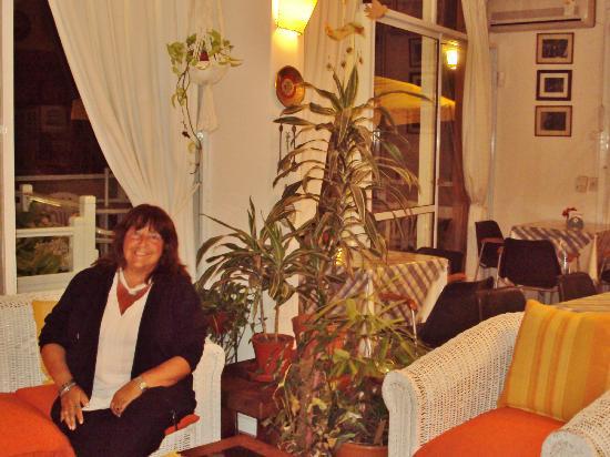 Hotel Tamanacos: Sala y comedor.