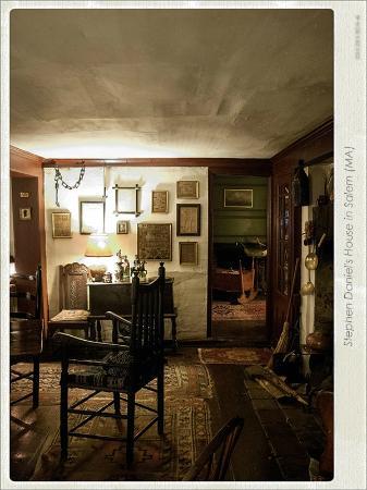 Stephen Daniels House: détail salle à manger