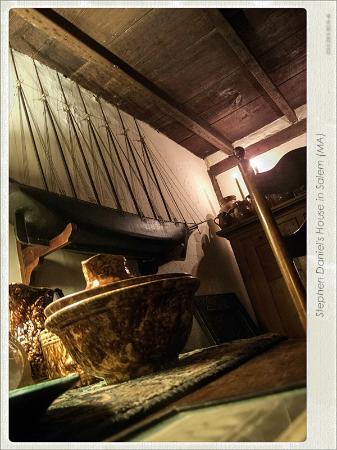 Stephen Daniels House: détail ancienne cuisine