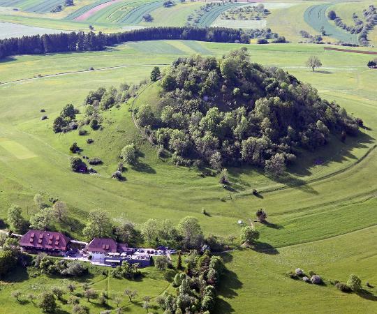 Hotel Hofgut Hohenkarpfen: Luftaufnahme Hohenkarpfen